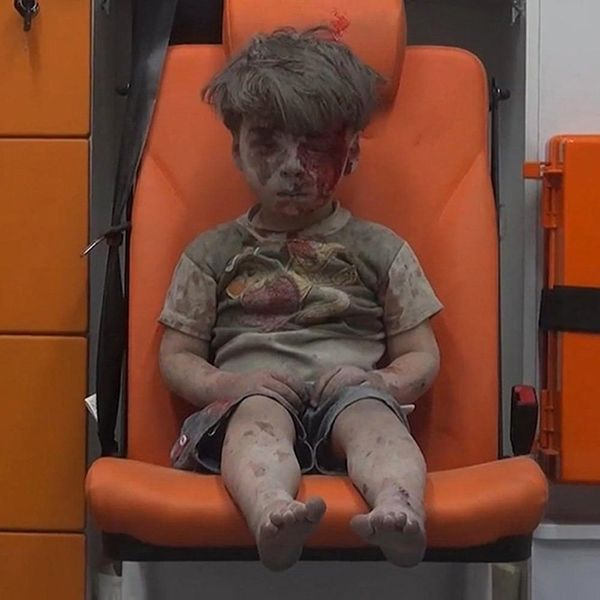 Here's Everything We Know About the Syrian Child Pulled From Aleppo