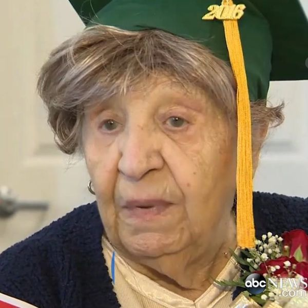 100-Year-Old Woman Who Had to Quit School to Work in a Factory *Finally* Gets Diploma