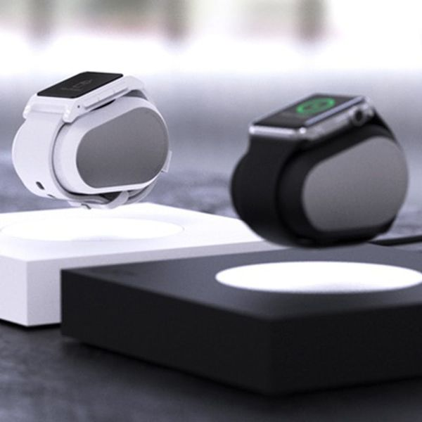 This Levitating Watch Charger Will Make Your New Apple Watch Fancy AF