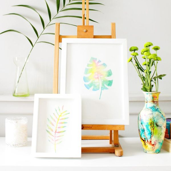 Create This Anthropologie Watercolor Wall Art for Half the Price