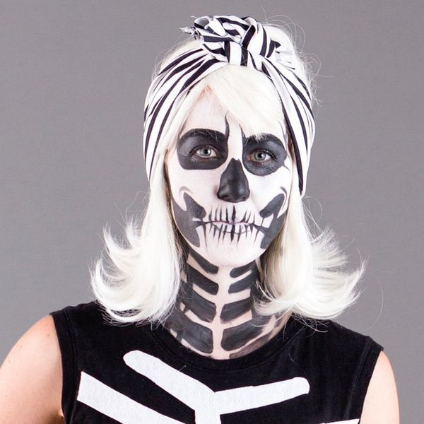 How to Make a Bombshell Skeleton Costume