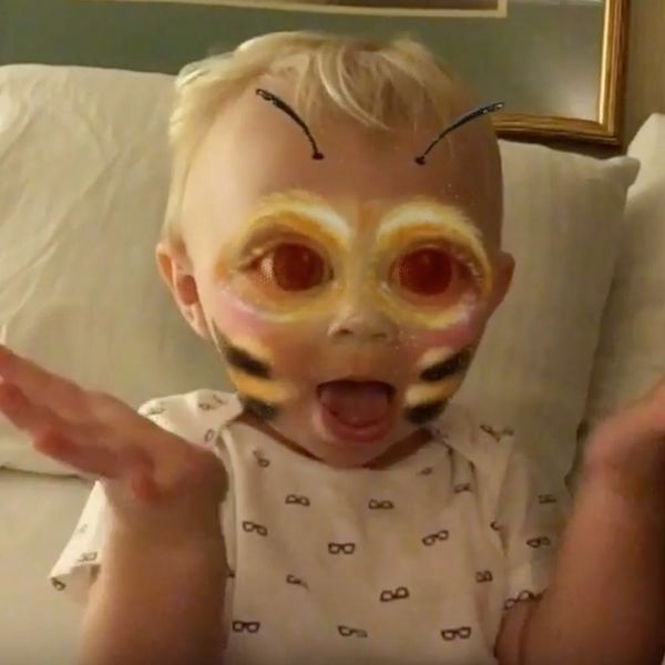 This Baby Loves Snapchat Filters More Than You