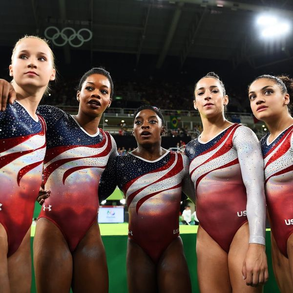 How the Olympic Leotard Went from Basic to Blinged Out