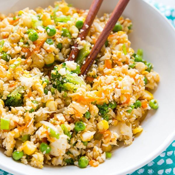 Takeout Hack: Cauliflower Fried Rice