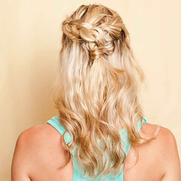 Hack This Half-Up 'Do With Our Secret Styling Weapon