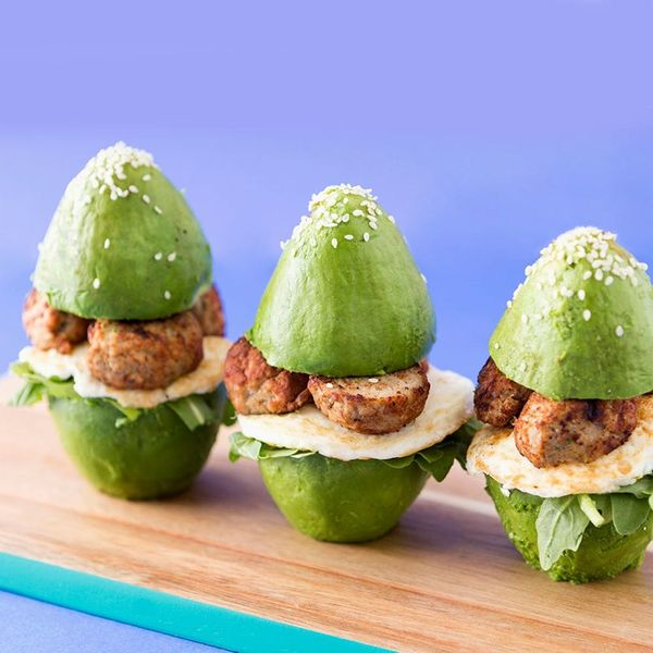 We Tried It: Avocado Bun Meatball Sliders With Our Fave Trader Joe's Products