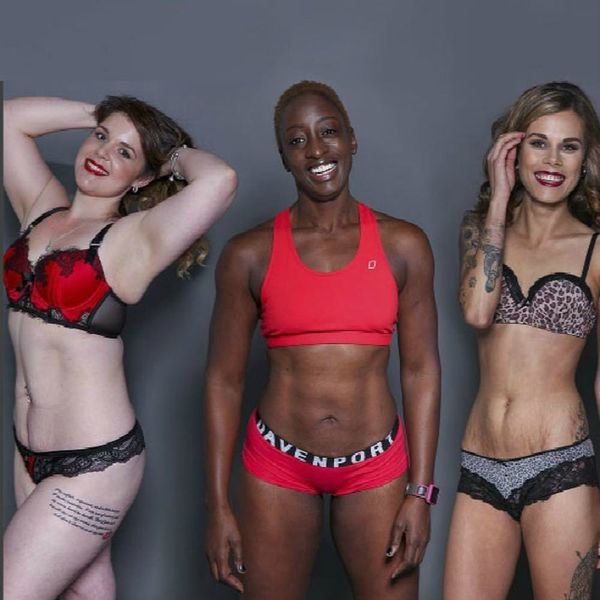 100 Women Stripped Down to Their Skivvies for This Seriously Inspiring Cause