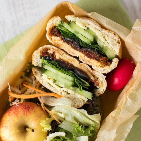 These Veggie Stuffed Picnic Rolls Are Perfect for Back to School Lunches