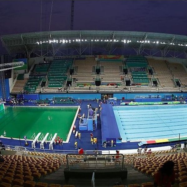 For the Record: Science Says There's No Way Pee Is Behind the Olympic Pool Greening AT ALL