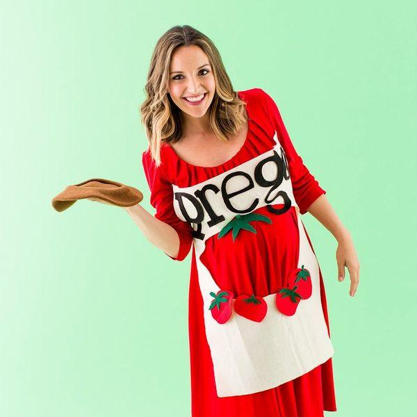 8 Easy DIY Halloween Maternity Costumes