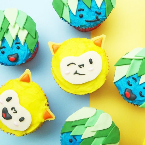 How to Make the Most Adorable Rio Olympics Mascot Cupcakes
