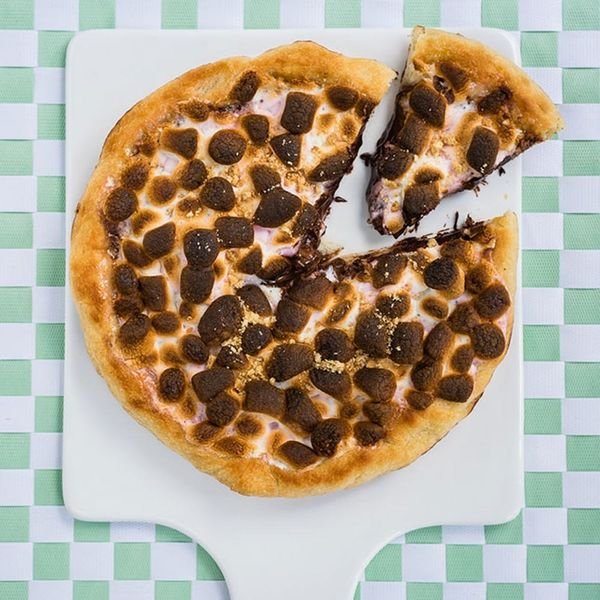 You'll Want S'more of This Dessert Pizza