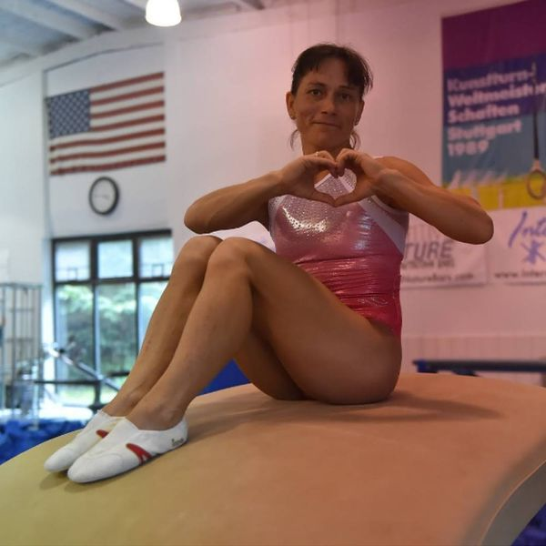 This 41-Year-Old Olympic Gymnast Proves You're Never Too Old to Follow Your Dreams