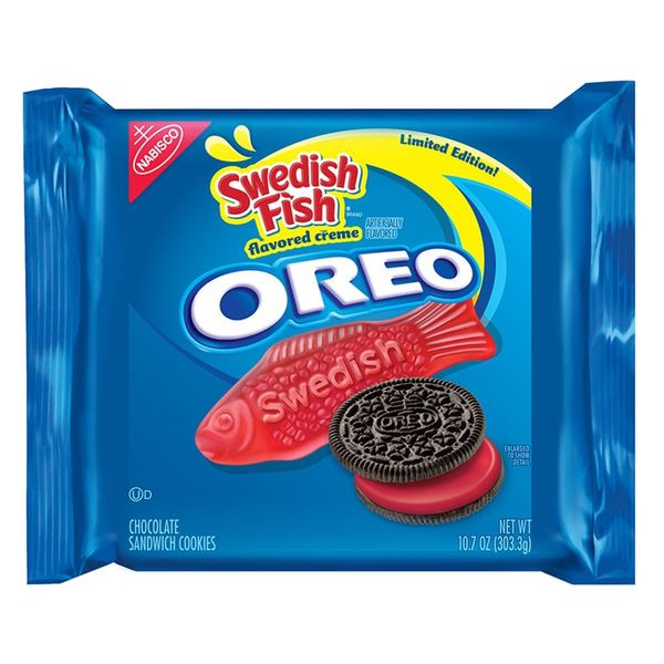 Swedish Fish Oreos Are Either the Best or Pukiest Snack Combo the World Has Ever Seen