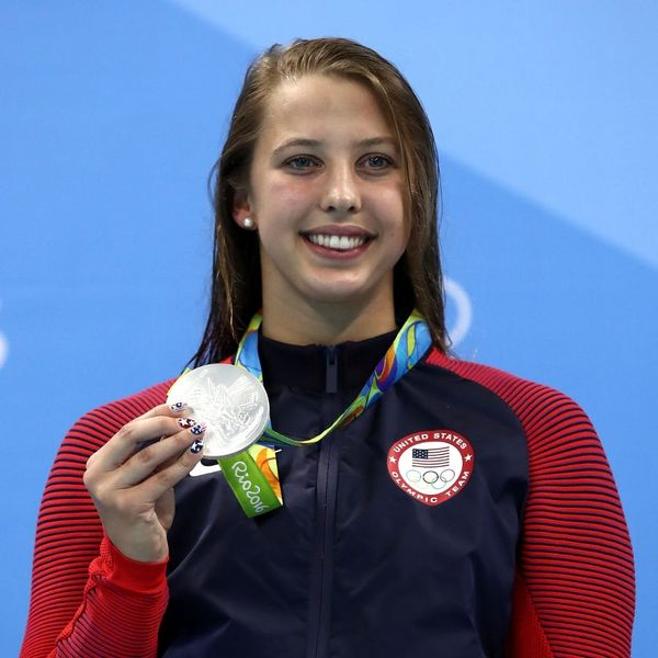 The Olympics Sent in Scuba Divers to Find Kathleen Baker's Lost Pearl Earring