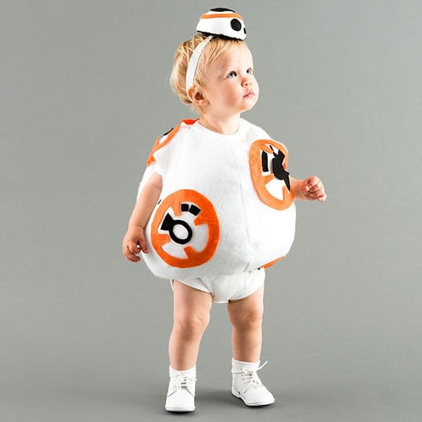 Dress Up Your Little Love Bug in this BB8 Costume for Halloween