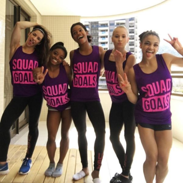 US Olympic Women's Gymnastics Team Is Giving Taylor Swift's #GirlSquad a Run for Their Money