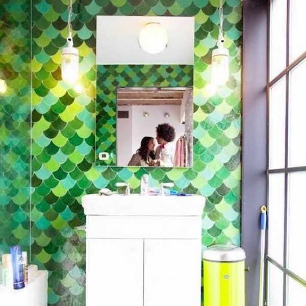 12 Ways Fish Scale Tiles Will Complete All Your Mermaid Dreams
