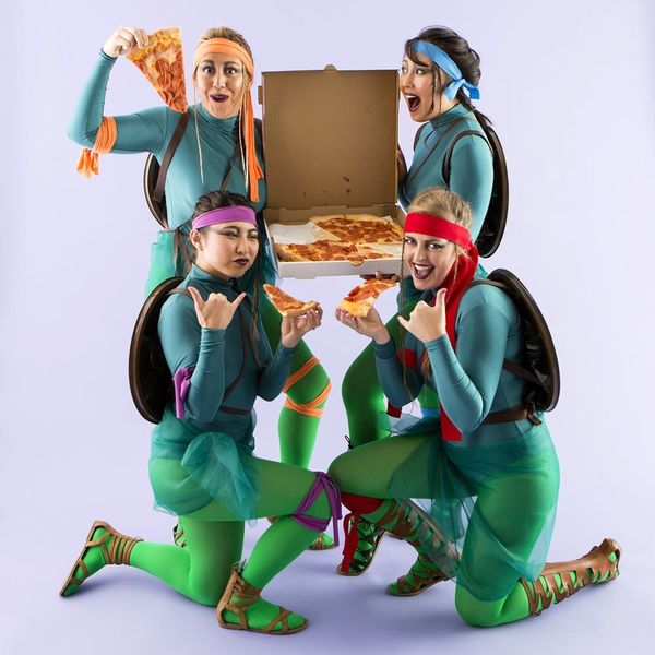 Teenage Mutant Ninja Turtles = Coolest Group Costume Ever