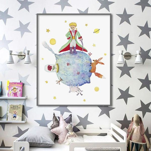 14 Delightfully Whimsical Ideas for Your Little Prince-Inspired Nursery