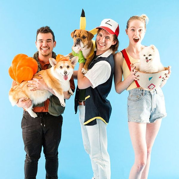 This Group Pokémon Costume Involves Your Friends and Pets