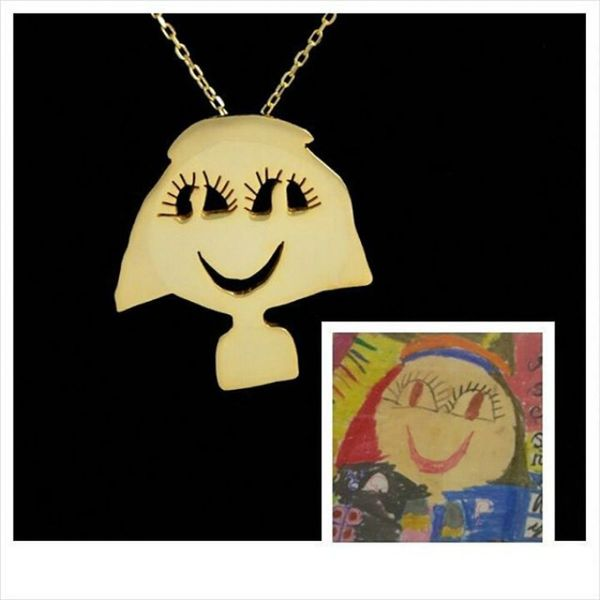 These Artists Turn Your Kids' Creative Doodles into Beautiful Jewelry