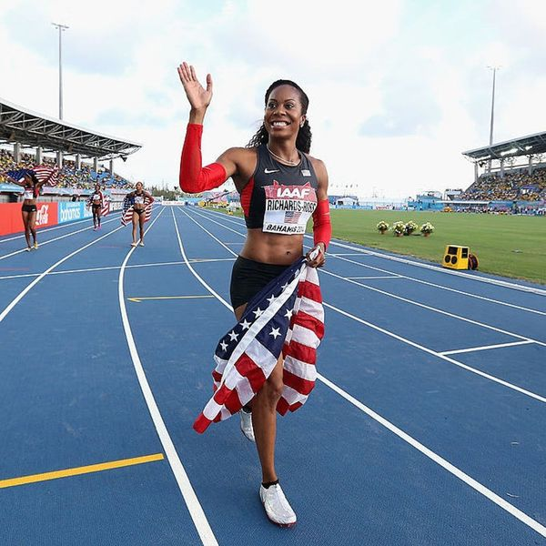 Here's What's on Olympian Sanya Richards-Ross's Running Playlist