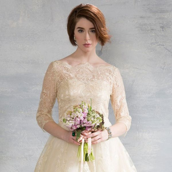This Best-Selling Retro Wedding Dress Is Less Than $200