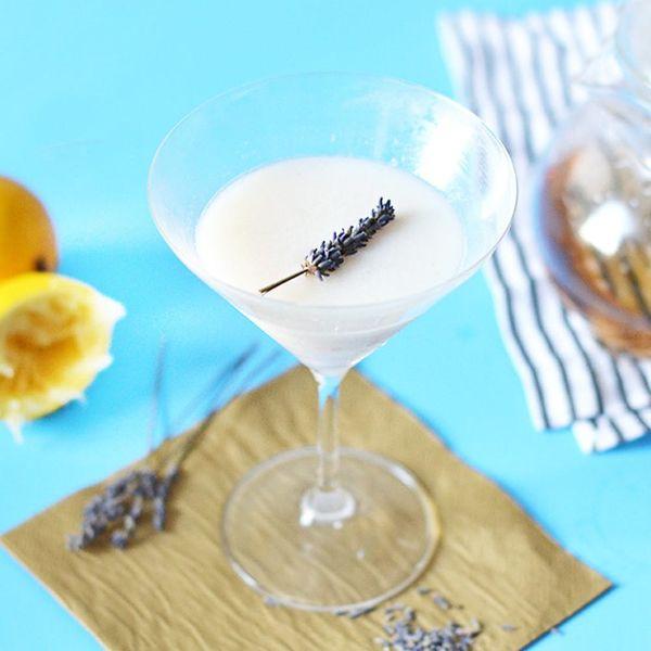 This Yogurt Lemon Lavender Cocktail Will Make You Feel Fancy AF