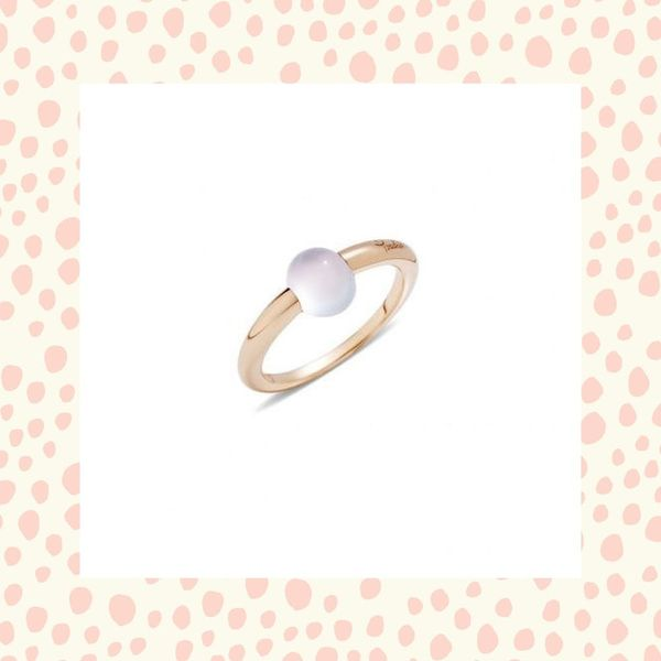 13 Lovely Non-Diamond Engagement Rings for the Minimalist Bride
