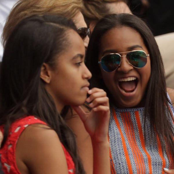 8 Times Sasha and Malia Obama Had Totally Normal Teenage Lives
