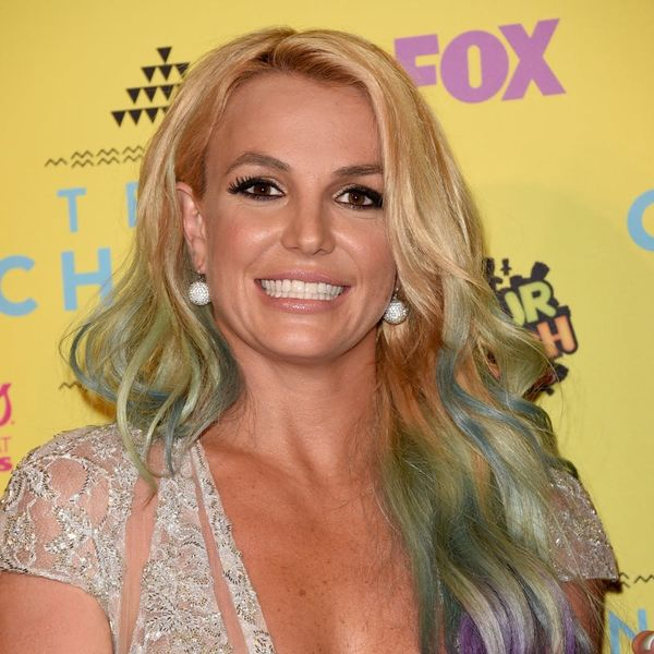 Britney Spears Is Totally Twinning With Another Pop Star on Her New Album Cover