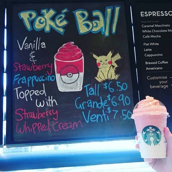 The Pokemon Frappuccino Is Your New Fave Starbucks Drink