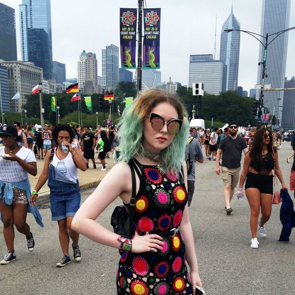 21 of the Best Street Style Snaps from Lollapalooza 2016