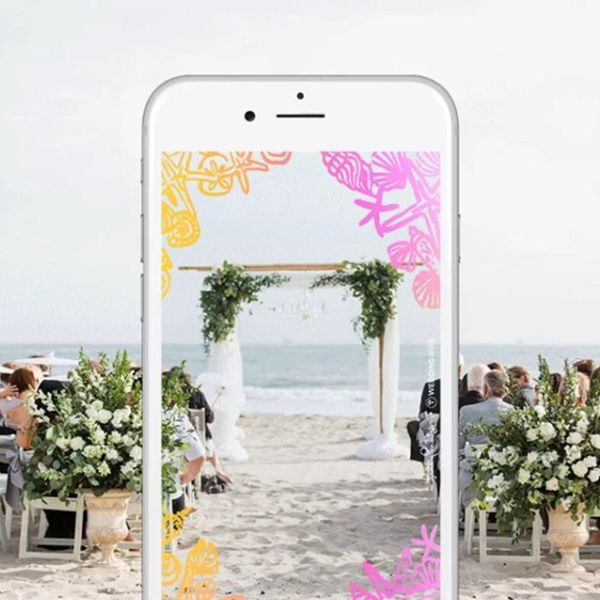 WeddingWire Released 12 Beautiful Wedding Day Snapchat Geofilters for FREE