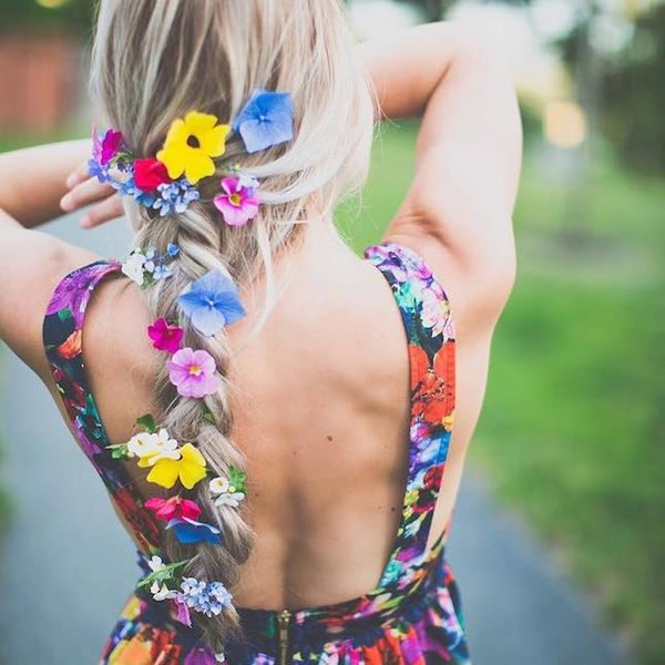9 Stunning Flower Braids Pretty Enough to Wear to Your Wedding