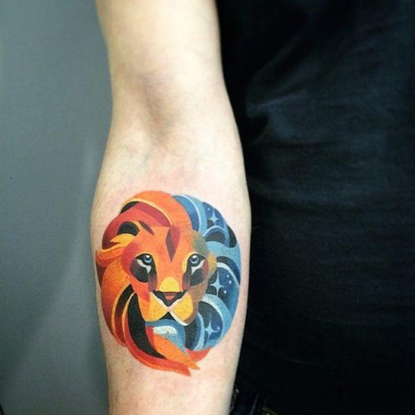 11 Fierce Tattoo Ideas for Leos
