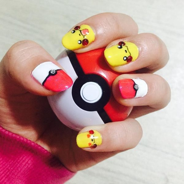 10 Pokemon Nails That Are Sure to Help You Catch 'Em All