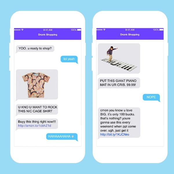 An App to Get the Most Out of Your Drunk Shopping Excursions + More