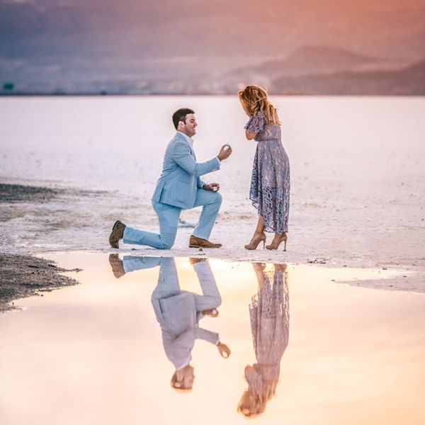 This Heartwarming Salt Flats Proposal Story Is Seriously Breathtaking