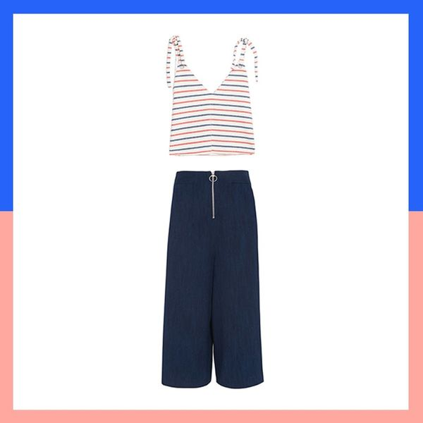 8 Easy Ways to Give French Girl Stripes an Edge