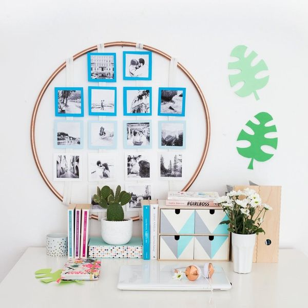 Try This Easy Photo Display DIY to Spruce Up Your Dorm Room