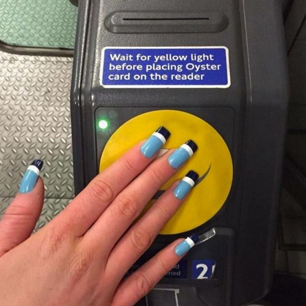 This Brilliant Student Uses Her Manicure to Get on the Subway