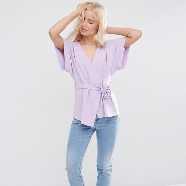 These 13 Wrap Tops Will Slay All Summer