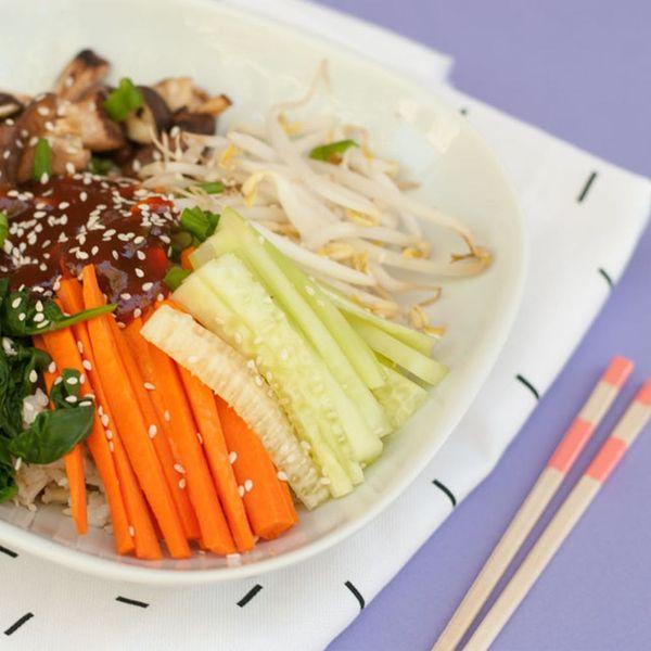 This Vegan Bibimbap Bowl Will Fulfill All Your Gochujang Cravings
