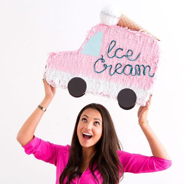 Make This Ice Cream Truck Piñata for National Ice Cream Day