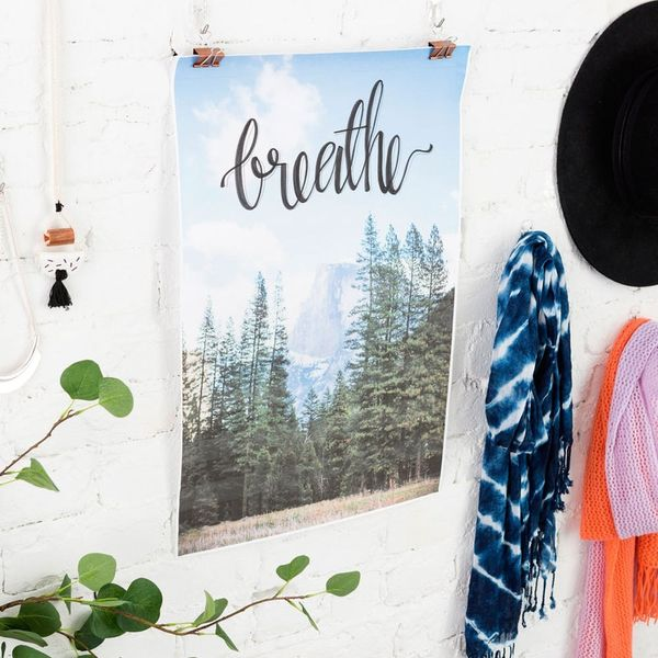 Make This Lettered Photo Wall Art in 30 Minutes or Less