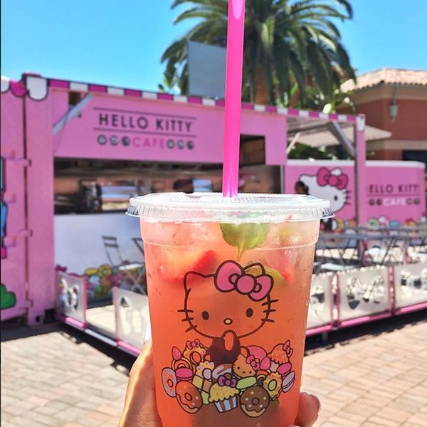 The First Hello Kitty Cafe Just Opened in America and It's Cute AF