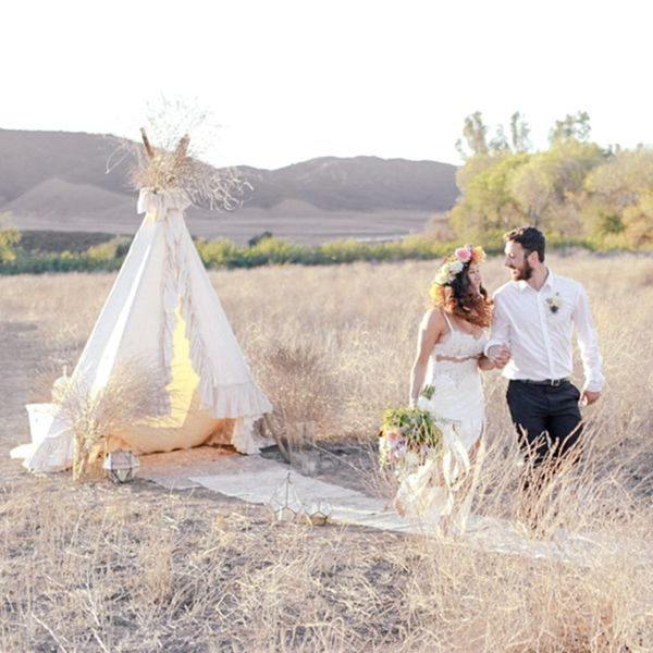 This Desert Elopement Is Pure Boho Magic