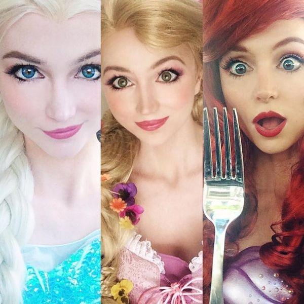This Woman Has Paid $14K to Transform into Disney Princesses